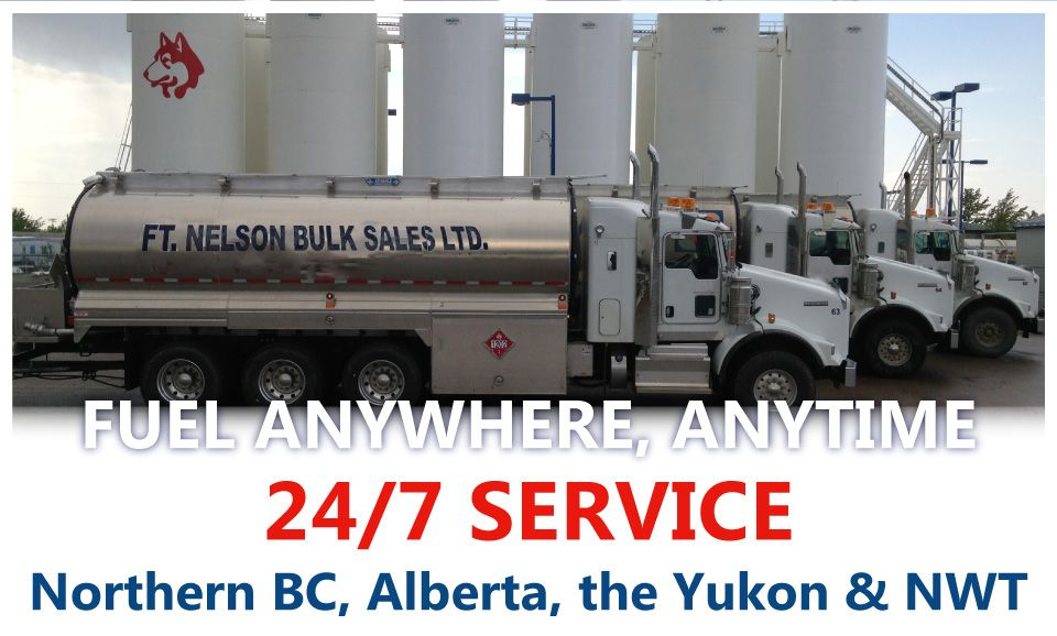 Ft. Nelson Bulk Sales Ltd. | Fuel Anywhere, Anytime | 24/7 Service / Northern BC, Alberta, the Yukon & NWT